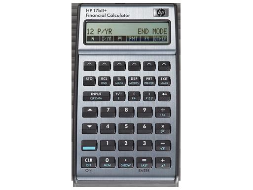 HP 17bII+ Financial Calculator   HP® Official Store