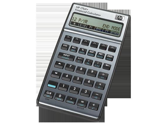 hp 17bii financial business calculator manual