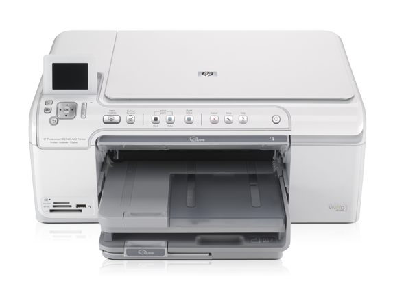 HP Photosmart C5540 All-in-One Printer - Center
