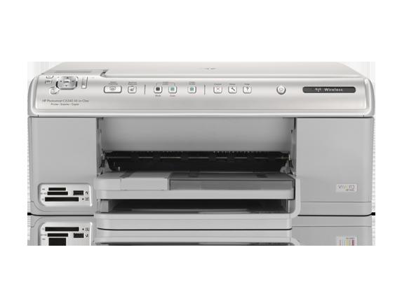 HP Photosmart C6340 All-in-One Printer - Center