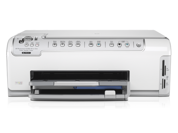 HP Photosmart C6286 All-in-One Printer - Center