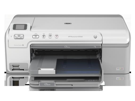 HP Photosmart D5345 Printer
