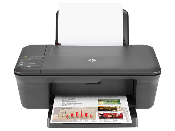 HP Deskjet 2050 All-in-One Printer - J510a - Center
