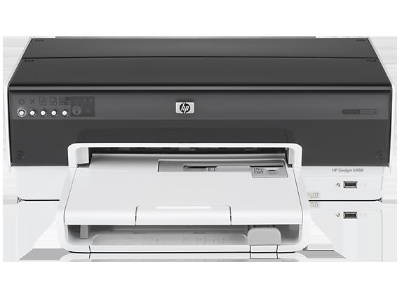 HP Deskjet 6988 Printer - Center