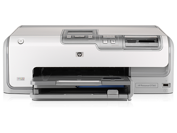 HP Photosmart D7355 Printer - Center