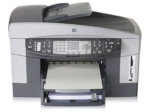HP Officejet 7410xi All-in-One - Center