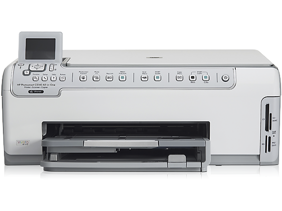 HP Photosmart C5140 All-in-One Printer - Center