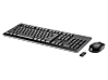 HP Wireless Keyboard and Mouse 200 - Left