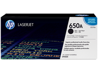 HP 650 Toner Cartridges