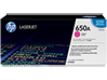 HP 650A Magenta Original LaserJet Toner Cartridge, CE273A