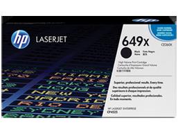 HP 649X High Yield Black Original LaserJet Toner Cartridge, CE260X