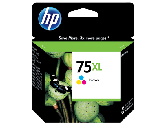 HP 75XL High Yield Tri-color Original Ink Cartridge