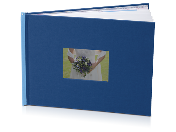 HP Photo Book 8.5 x 11 in (Indigo/Sky)