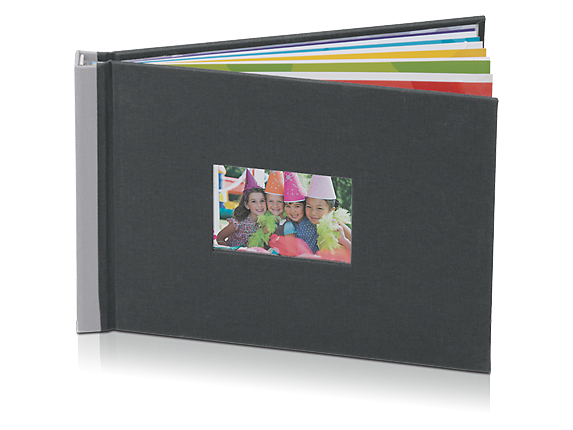 HP Photo Book 5 x 7 in (Charcoal/Silver)