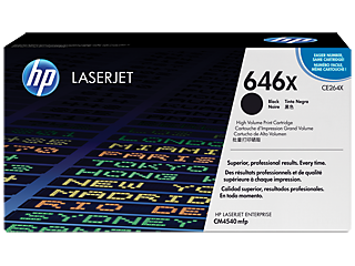 HP 646 Toner Cartridges