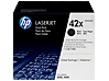 HP 42X 2-pack High Yield Black Original LaserJet Toner Cartridges