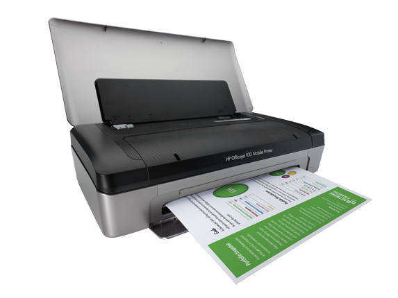 HP Officejet 100 Mobile Printer - L411a - Right