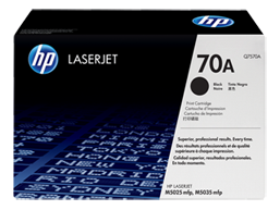 HP 70A Black Original LaserJet Toner Cartridge, Q7570A