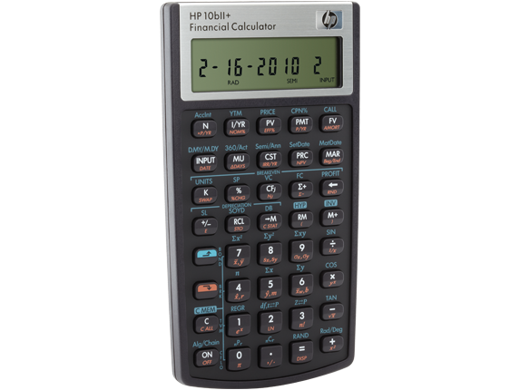 HP 10bII+ Financial Calculator| HP® Official Store