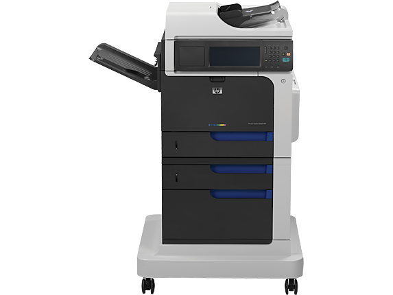 HP Color LaserJet Enterprise CM4540f MFP - Center
