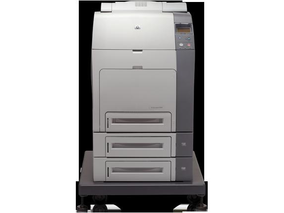HP Color LaserJet 4700dtn Printer - Center