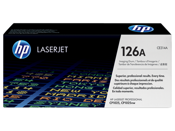 HP 126A LaserJet Imaging Drum, CE314A - Center