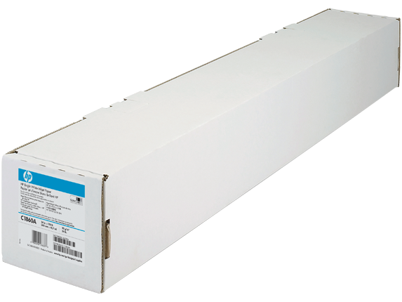 HP Bright White Inkjet Paper-610 mm x 45.7 m (24 in x 150 ft) - Right