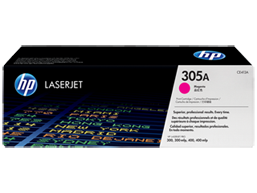 HP 305A Magenta Original LaserJet Toner Cartridge, CE413A