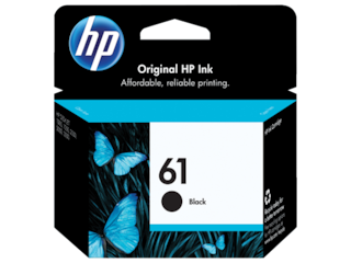 HP 61 Black Original Ink Cartridge, CH561WN#140