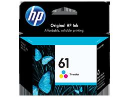 HP 61 Tri-color Original Ink Cartridge