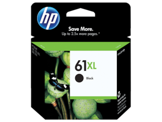 HP 61XL High Yield Black Original Ink Cartridge, CH563WN#140