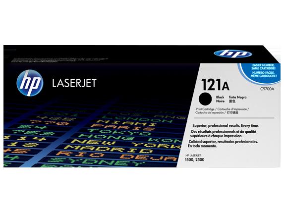 HP 121A Black Original LaserJet Toner Cartridge