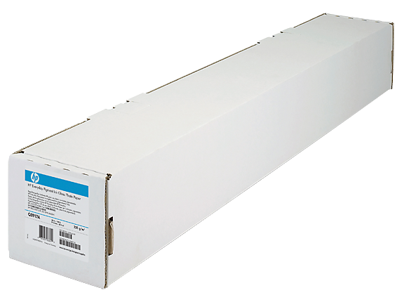 HP Super Heavyweight Plus Matte Paper-914 mm x 30.5 m (36 in x 100 ft) - Left