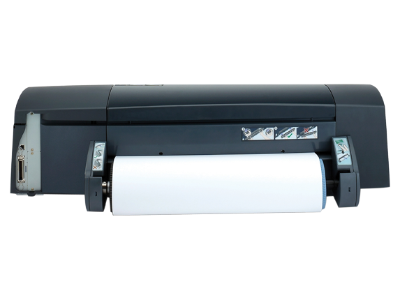 HP Designjet 90 Printer - Rear