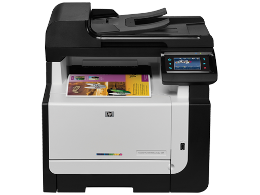 Supplies for hp laserjet pro cm1415fnw color multifunction for Best home office mfp