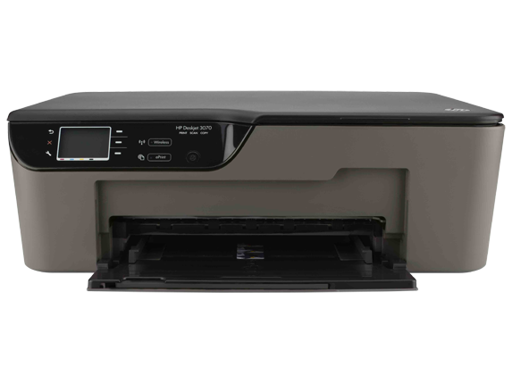 HP Deskjet 3070A e-All-in-One Printer - B611a - Center