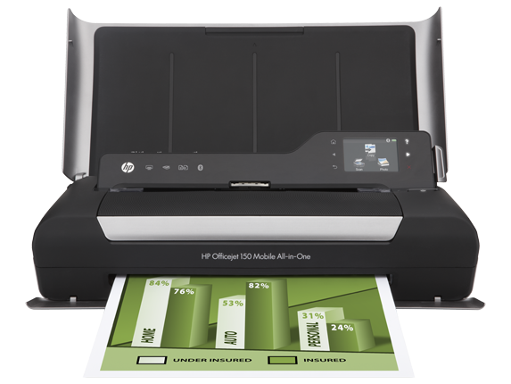 Hp Officejet 150 Mobile All In One Printer L511a Cn550a B1h Ink Toner Supplies