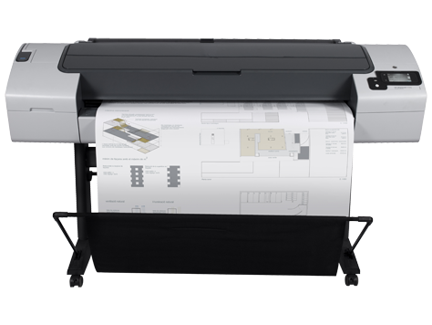 HP DesignJet T790 44-in PostScript Printer