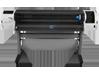HP Designjet T1300 44-in PostScript ePrinter with Encrypted Hard Disk - Rear