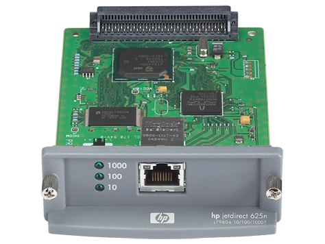 HP Jetdirect 625n Gigabit Ethernet-Druckerserver