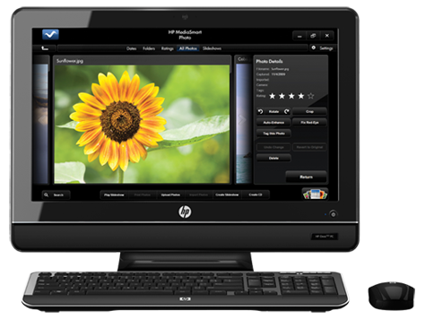 HP Omni 100-5200 Desktop PC series