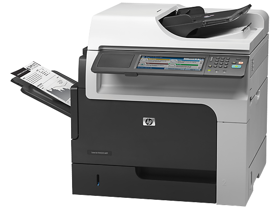 HP LaserJet Enterprise M4555h MFP - Left