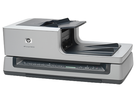 Scanner de mesa para documentos HP Scanjet N8420