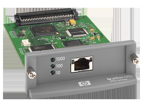 HP Jetdirect 635n IPv6/IPsec 打印服务器