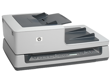 Scanner a superficie piana per documenti HP Scanjet N8460