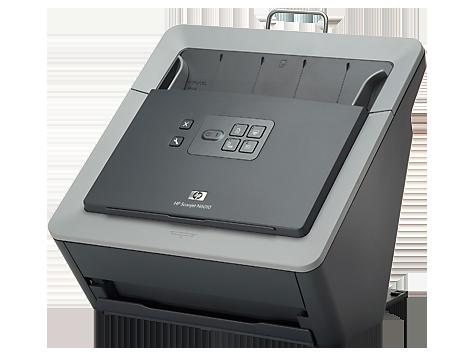 Escáner con alimentación de hojas de documento HP Scanjet N6010
