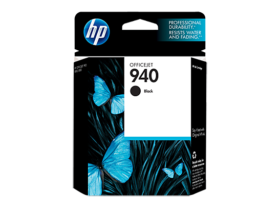 HP 940 Black Original Ink Cartridge - Center