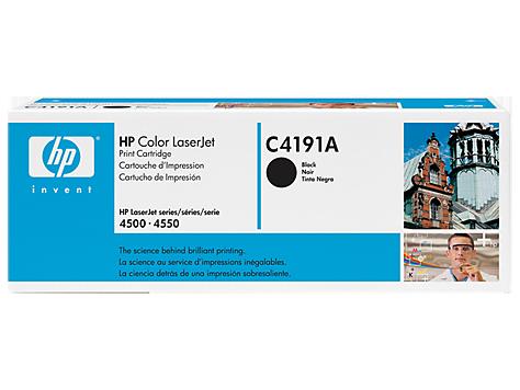 Оригинальный картридж для HP Color LaserJet C4191A, цвет черный