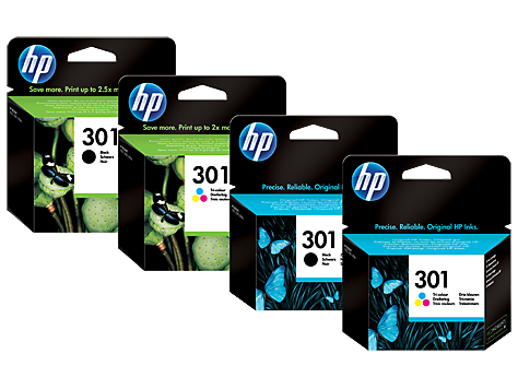 HP 301 inktcartridges
