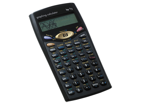 Calculateur graphique HP 9g